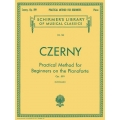 AVAILABLE IN STORE ONLY - Czerny: Practical Method for Beginners, Opus 599