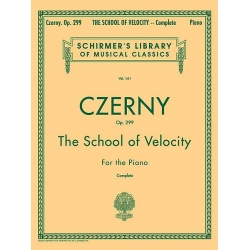 AVAILABLE IN STORE ONLY - Czerny: The School of Velocity, Opus 299